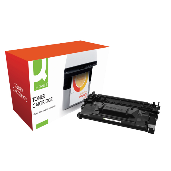 Q-Connect Compatible Solution HP CF226X Laser Toner Cartridge High Yield Black CF226X