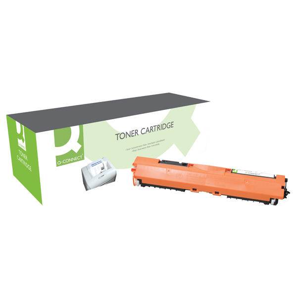 Q-Connect Compatible Solution HP 130A Black Toner Cartridge CF350A