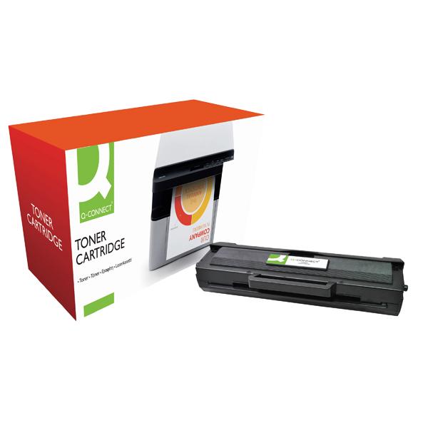 Q-Connect Compatible Solution Samsung 1042S Black Toner Cartridge MLT-D1042S/ELS