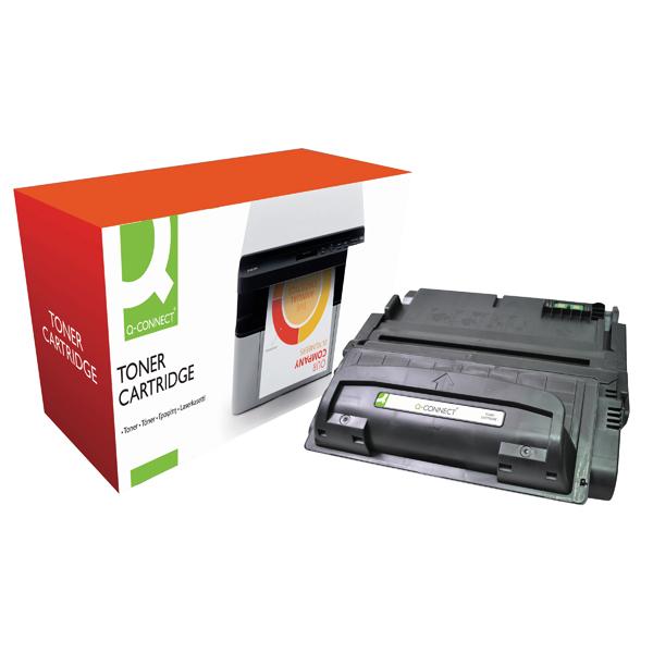 Q-Connect Compatible Solution HP 42A Black Laserjet Toner Cartridge Q5942A