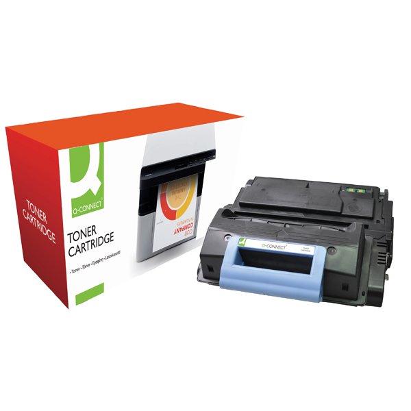 Q-Connect Compatible Solution HP 45A Black Laserjet Toner Cartridge Q5945A