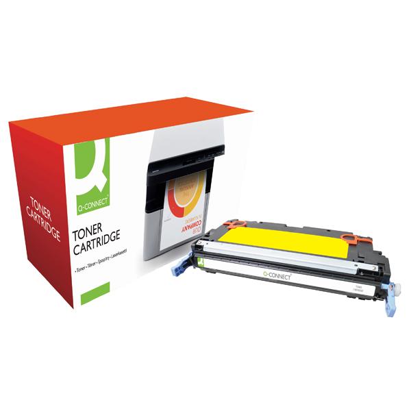 Q-Connect HP 314A Remanufactured Yellow Laserjet Toner Cartridge Q7562A
