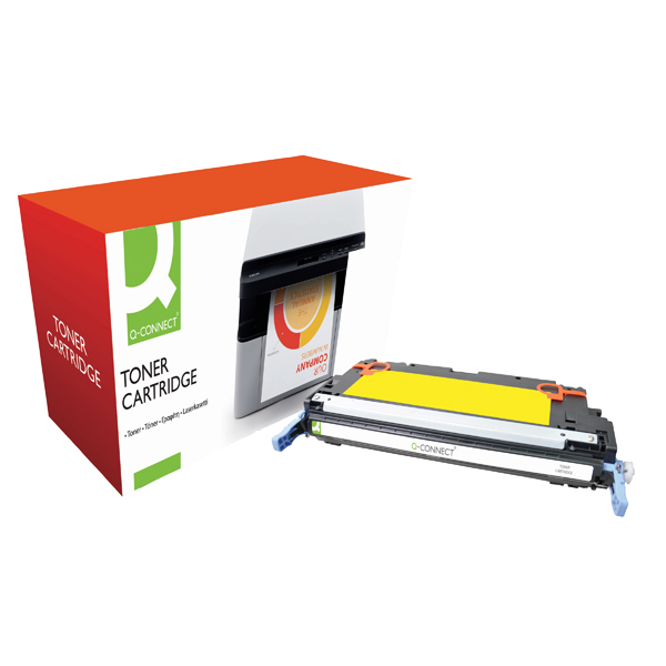 Q-Connect HP 503A Remanufactured Yellow Laserjet Toner Cartridge Q7582A