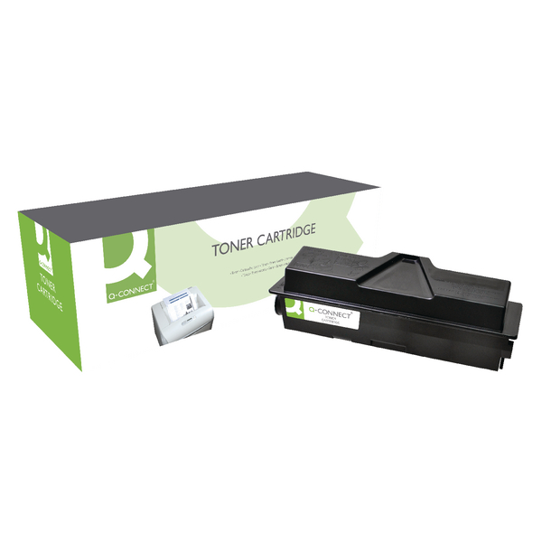 Q-Connect Compatible Solution Kyocera Black Toner Cartridge TK-160