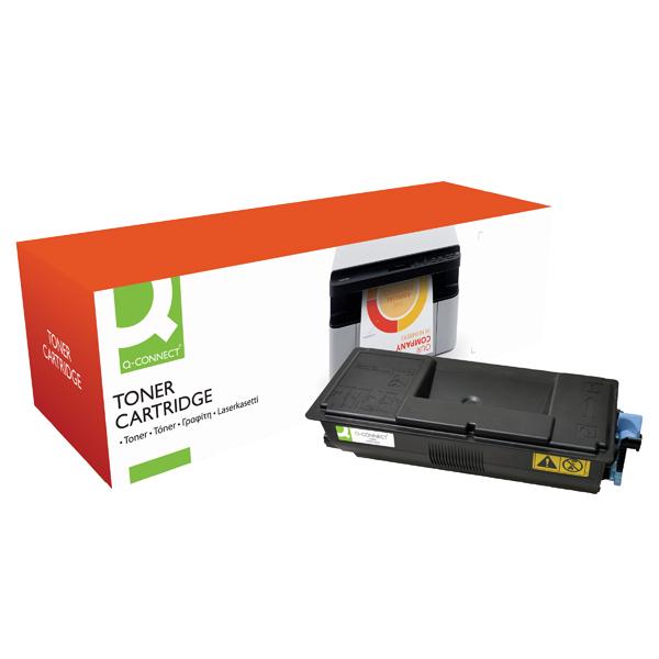Q-Connect Compatible Solution Kyocera Black Toner Cartridge TK-3100