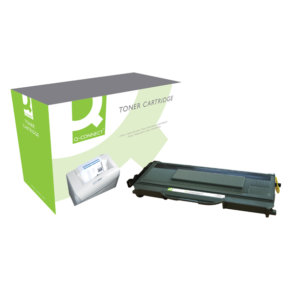 Q-Connect Compatible Solution Brother Black Toner Cartridge TN2110