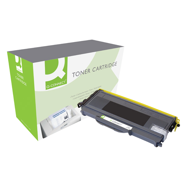 Q-Connect Compatible Solution Brother Black Toner Cartridge High Capacity TN2120