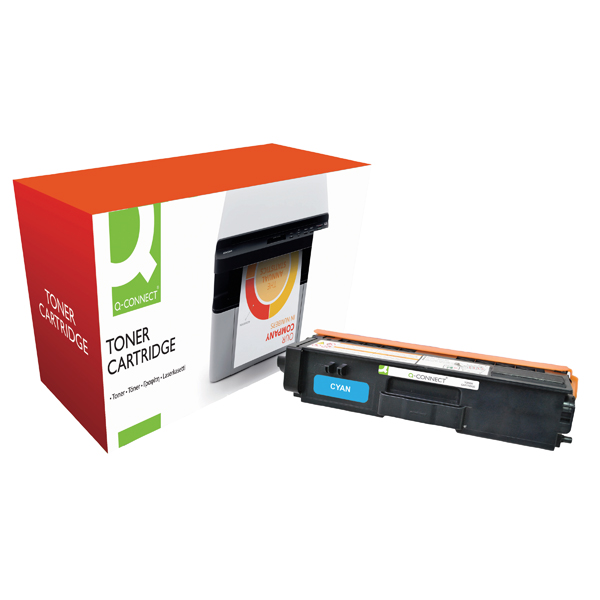Q-Connect Brother Remanufactured Cyan Toner Cartridge TN320C
