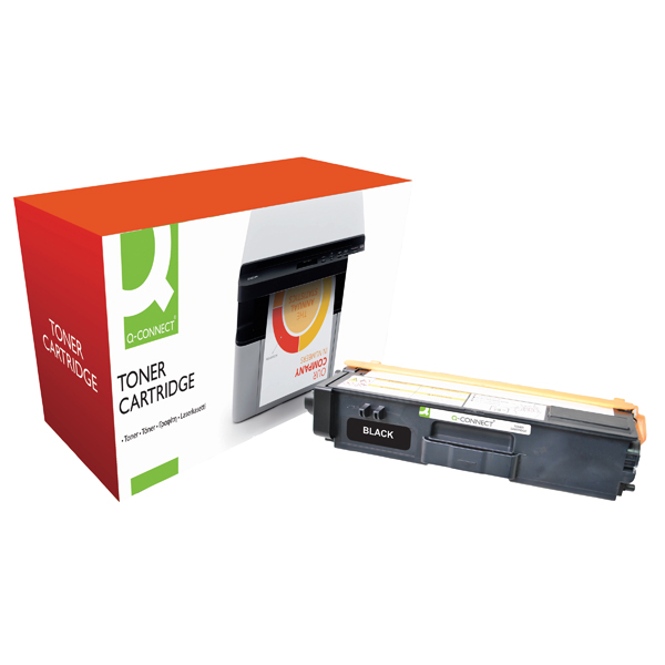 Q-Connect Compatible Solution Brother Black Toner Cartridge High Capacity TN325BK