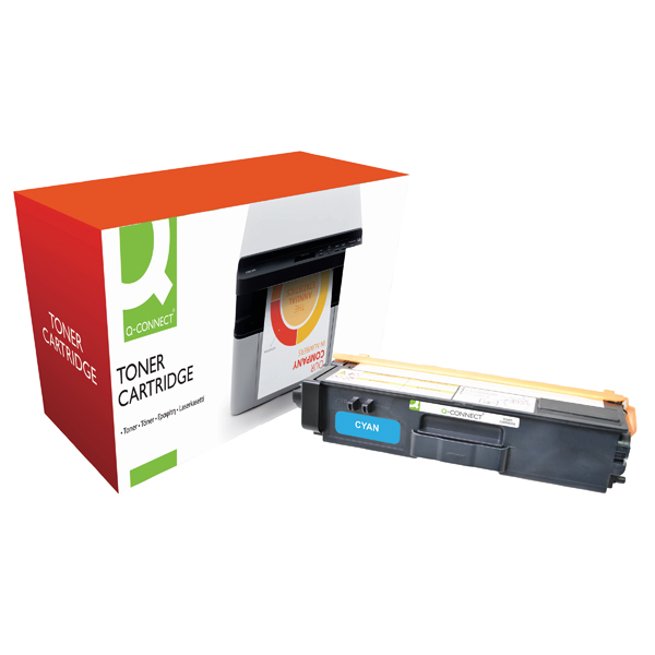 Q-Connect Brother Remanufactured Cyan Toner Cartridge High Capacity TN325C