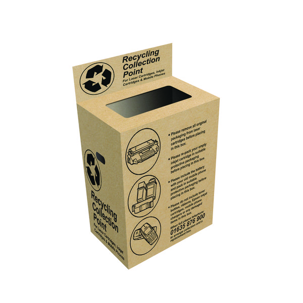Image for VOW Q-Connect Toner and Inkjet Recycling Box (Pack of 2) RECBOX