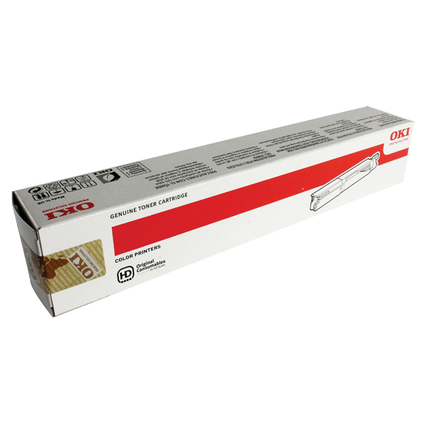 Oki C3520/3530Mfp High Capacity 2.5K Yellow Toner Cartridge 43459369