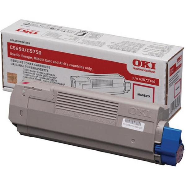 Oki Magenta Toner Cartridge 43872306