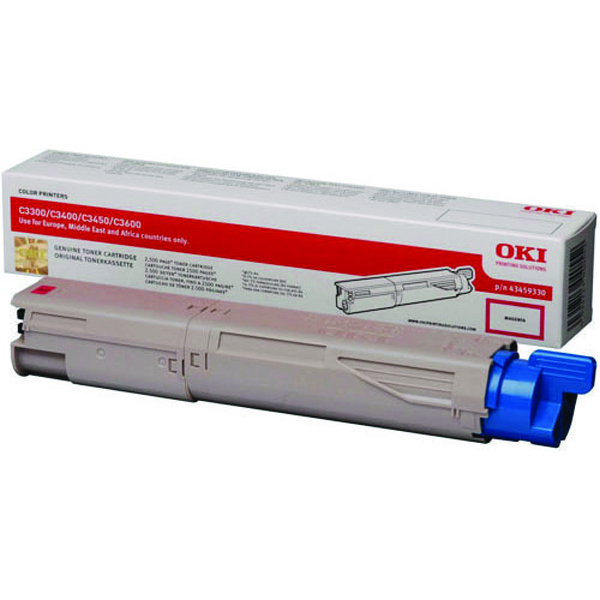 Oki Magenta Toner Cartridge High Capacity 43459330