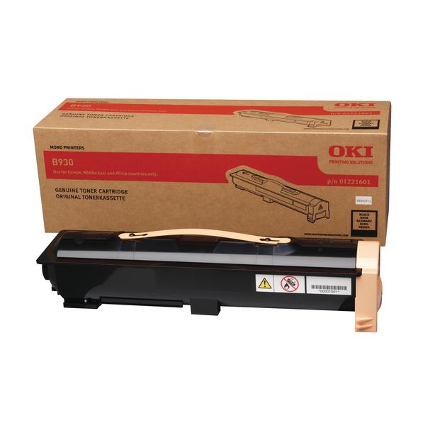 Oki B930 Laser Black Toner 01221601