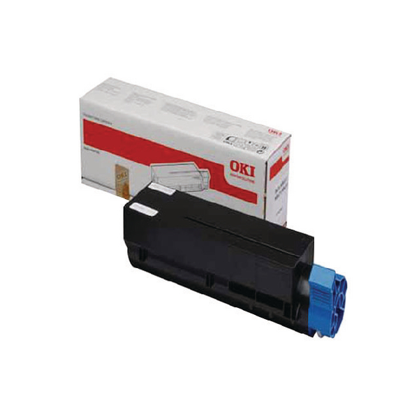 Oki Black Toner Cartridge High Capacity (Capacity: 7000 pages) 44574802