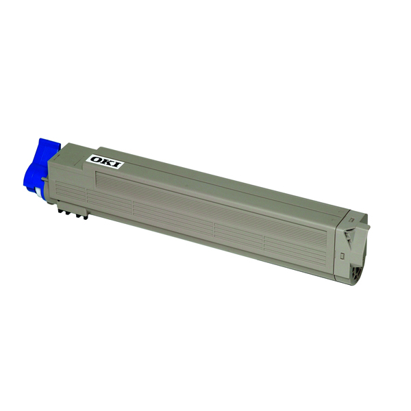 Oki Cyan Toner Cartridge 43837131
