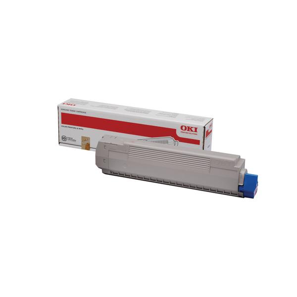 Oki Cyan Toner Cartridge 44059255