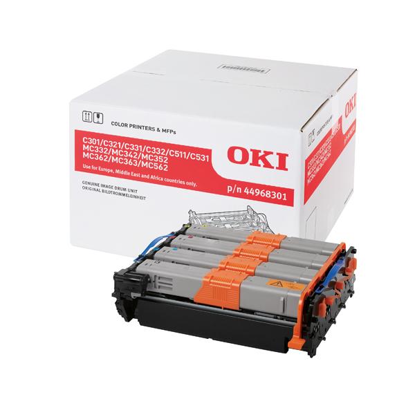 Oki C301/321/331/511/Mc352 Imaging Unit (Capacity: 20,000 colour/30,000 monochrome) 44968301