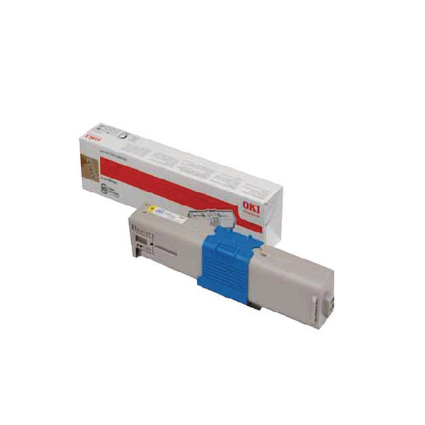 Oki Yellow Toner Cartridge (1,500 Page Capacity) 44973533