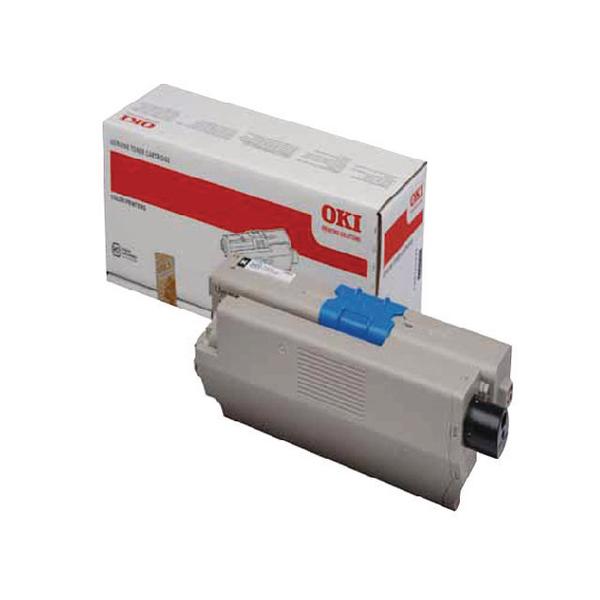 Oki Black Laser Toner Cartridge 44973536