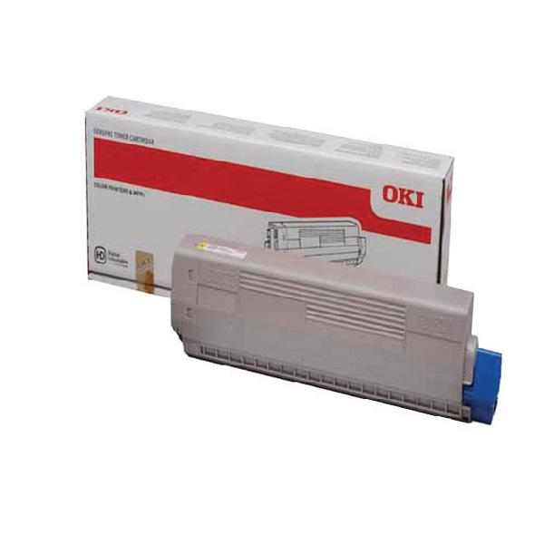 Oki Yellow Toner Cartridge 44844613