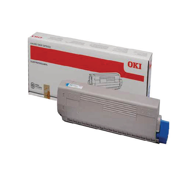 Oki C822 Cyan Toner Cartridge 44844615