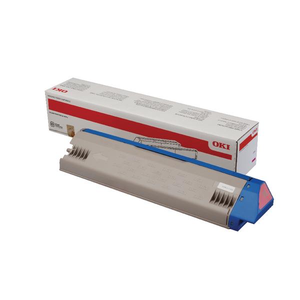 Oki Magenta Toner Cartridge Standard Yield 45536414