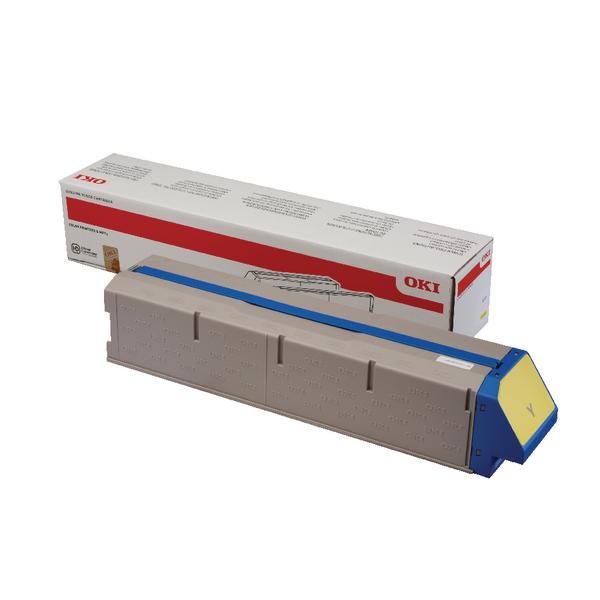 Oki Yellow Toner Cartridge High Capacity 45536505