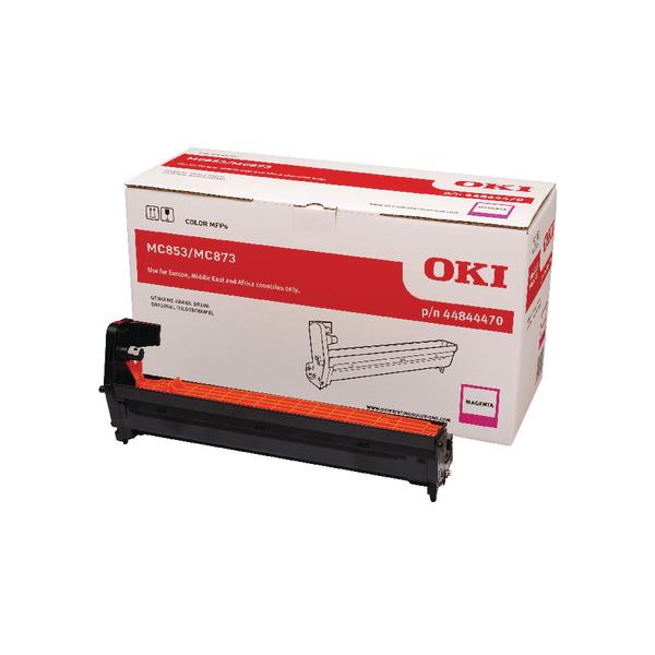 Oki MC853 MC873 30000 Pages Magenta Drum 44844470