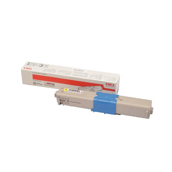 Oki C332 Yellow Toner MC363 1.5k 46508713