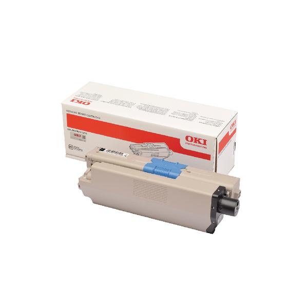 Oki C332 Black Toner MC363 1.5k 46508716