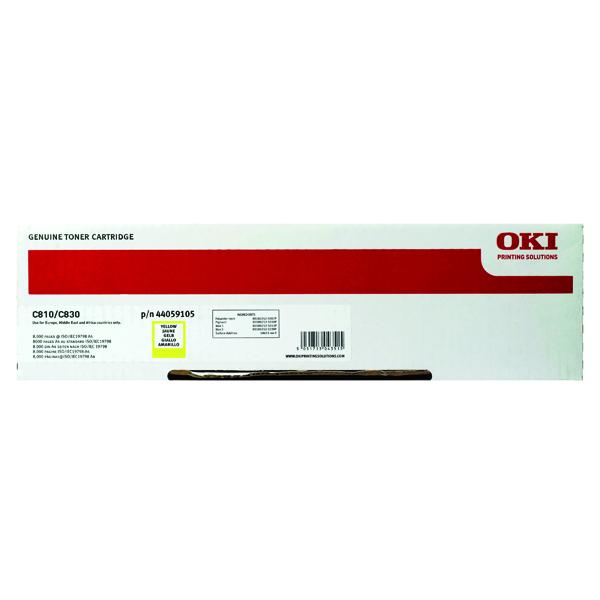 Oki Yellow Toner Cartridge 44059105