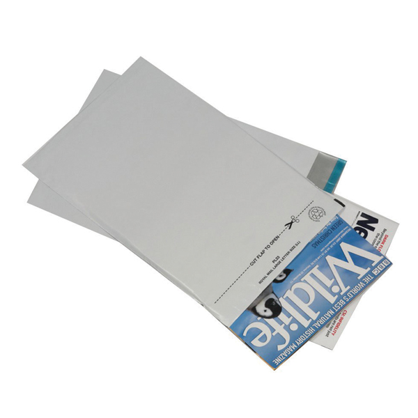 GoSecure Envelope 235x310mm Lightweight Polythene Opaque (Pack of 100) PB11123