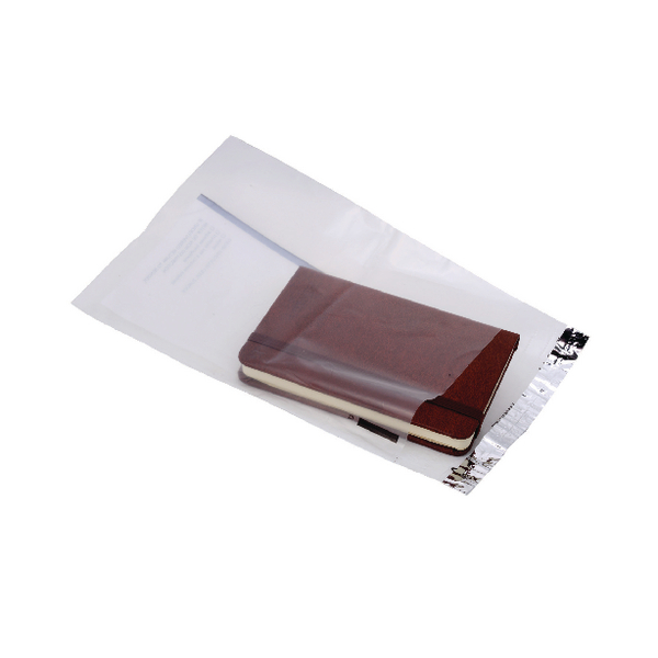 Ampac Lightweight Polythene Envelope 165x230mm Clear With Panel (Pack of 100) KSV-LCP1