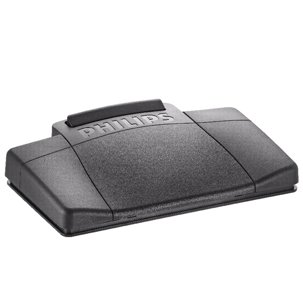 Image for Philips Black Analogue Dictation Foot Control LFH2210/00