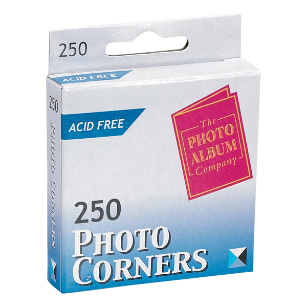 TPAC Photo Corners White (Pack of 250) PC250