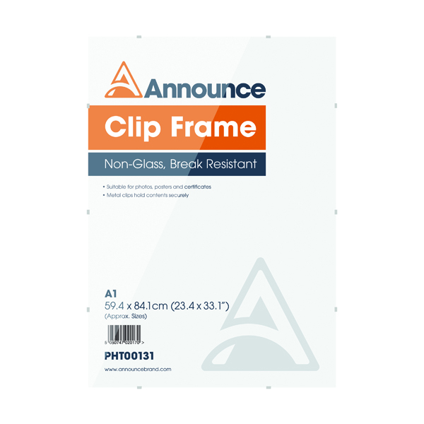 Image for Announce A1 Clip Frame