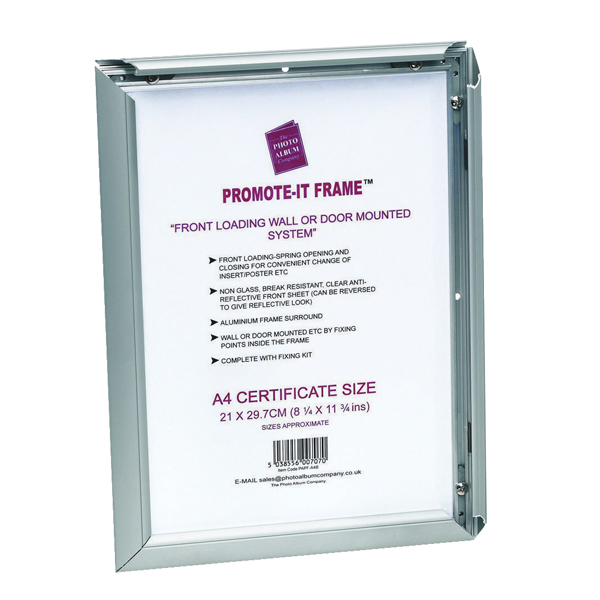 TPAC Photo Promote It Frame A3 Aluminiun PAPFA3B