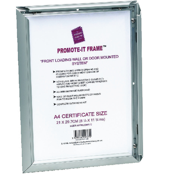 Photo Album Company Promote It Aluminium A2 Frame PAPFA2B | Office ...