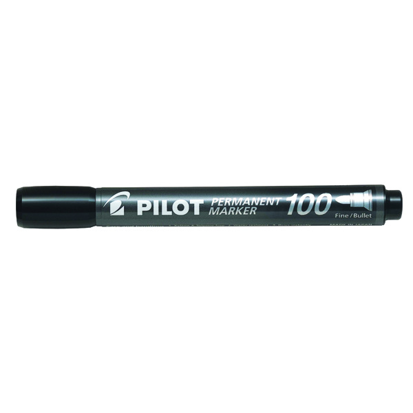 Pilot 100 Permanent Market Black Bullet Tip 3131910501268
