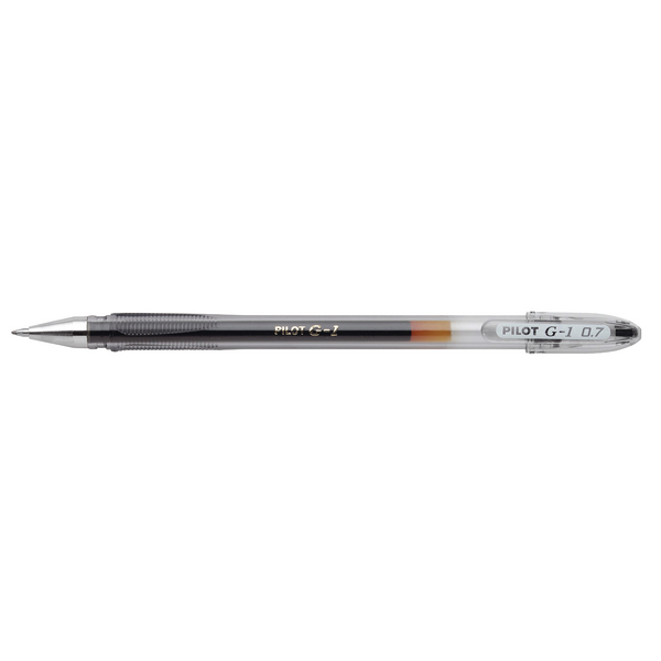 Image for Pilot G1 Gel Ink 0.5mm Black Rollerball Pen (Pack of 12) G10501