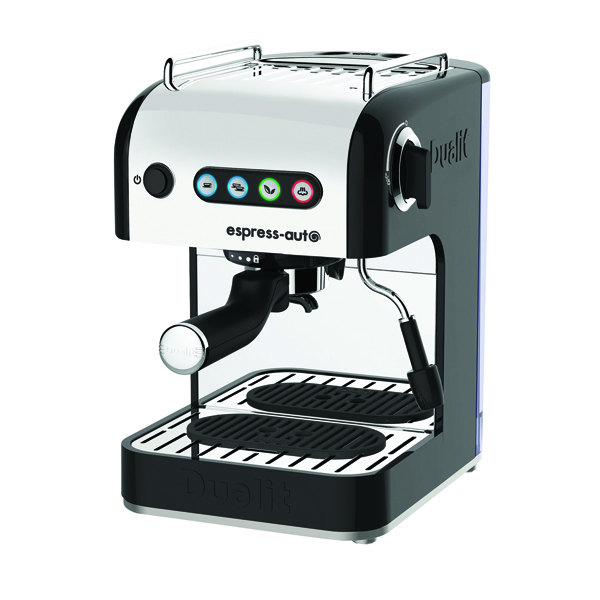 Dualit 3in1 Coffee and Tea Maker Stainless Steel/Black DA4516
