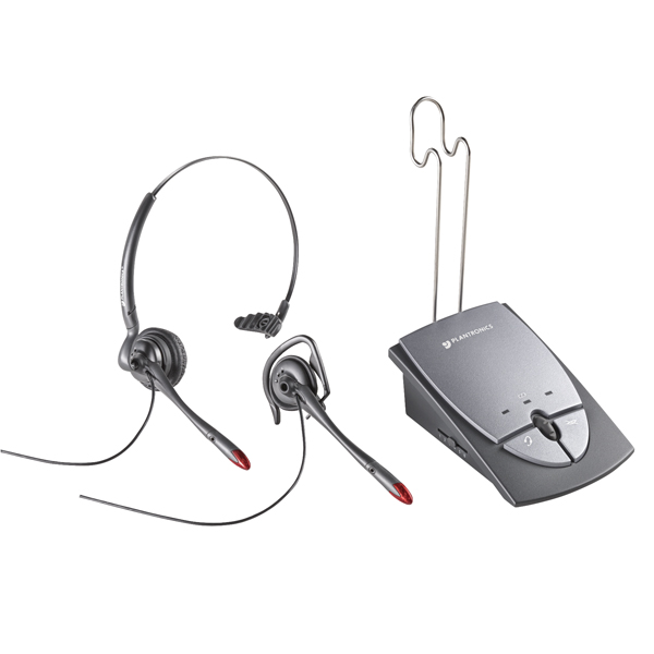 Image for Plantronics Silver S12 Amplifier and Headset 36784-01