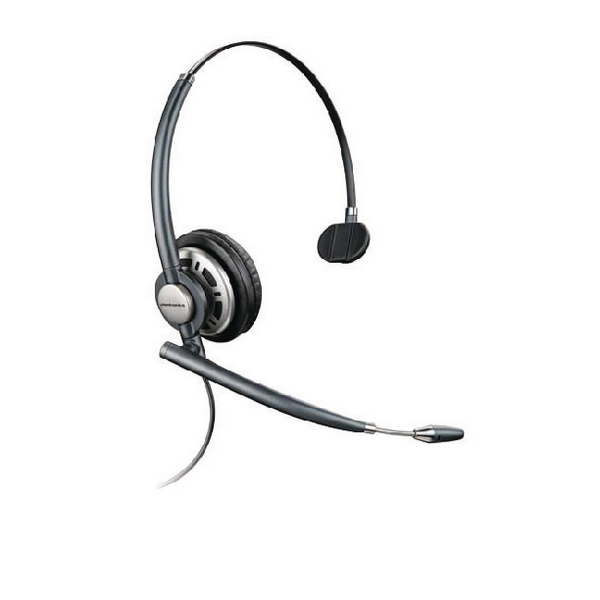 Plantronics Black EncorePro HW710 Customer Service Headset Monaural 78712-102