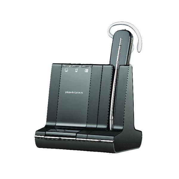 Plantronics Savi W740 Black Wireless Headset 83542-12