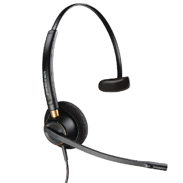 Plantronics EncorePro HW510 Customer Service Headset Monaural Noise-Cancelling 52633