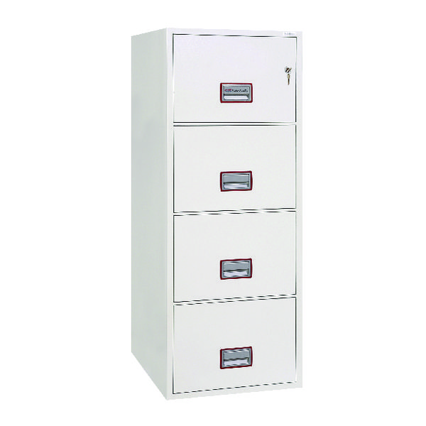 Phoenix FS2274K Fire File 4 Drawer Key Lock FS2274K