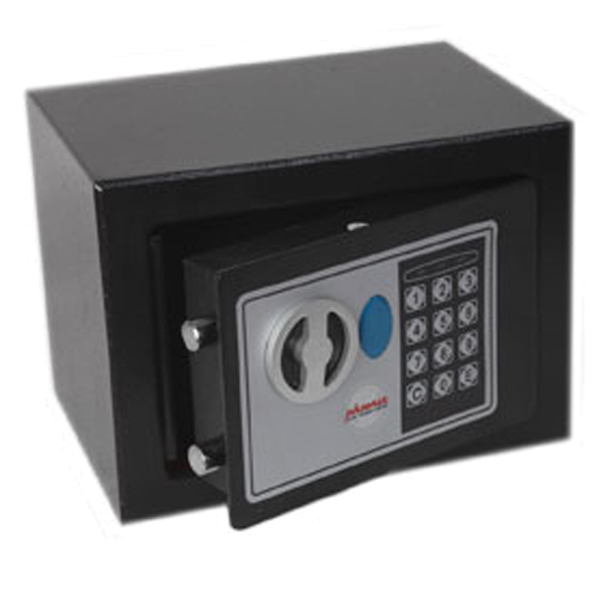 Image for Phoenix Black Compact Home and Office Security Safe Size 1 Electric Lock SS0721E