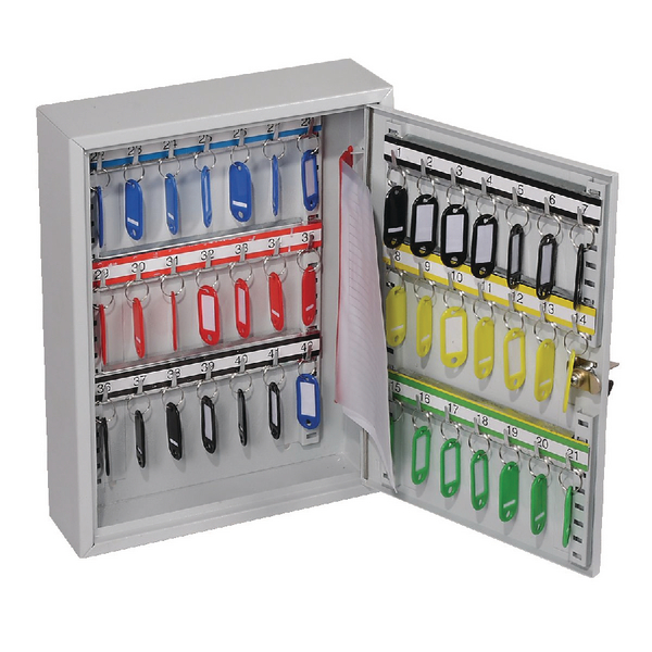 Image for Lockable 42 Hook Key Cabinet KC0601K